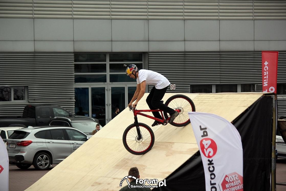 Rampa rowerowa do skoków