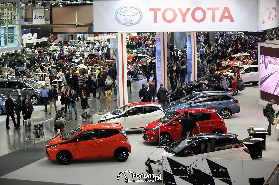 Stoisko Toyoty na Targach