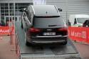 Stromy podjazd, Arena quattro, offroad parkur, Audi A6 Allroad