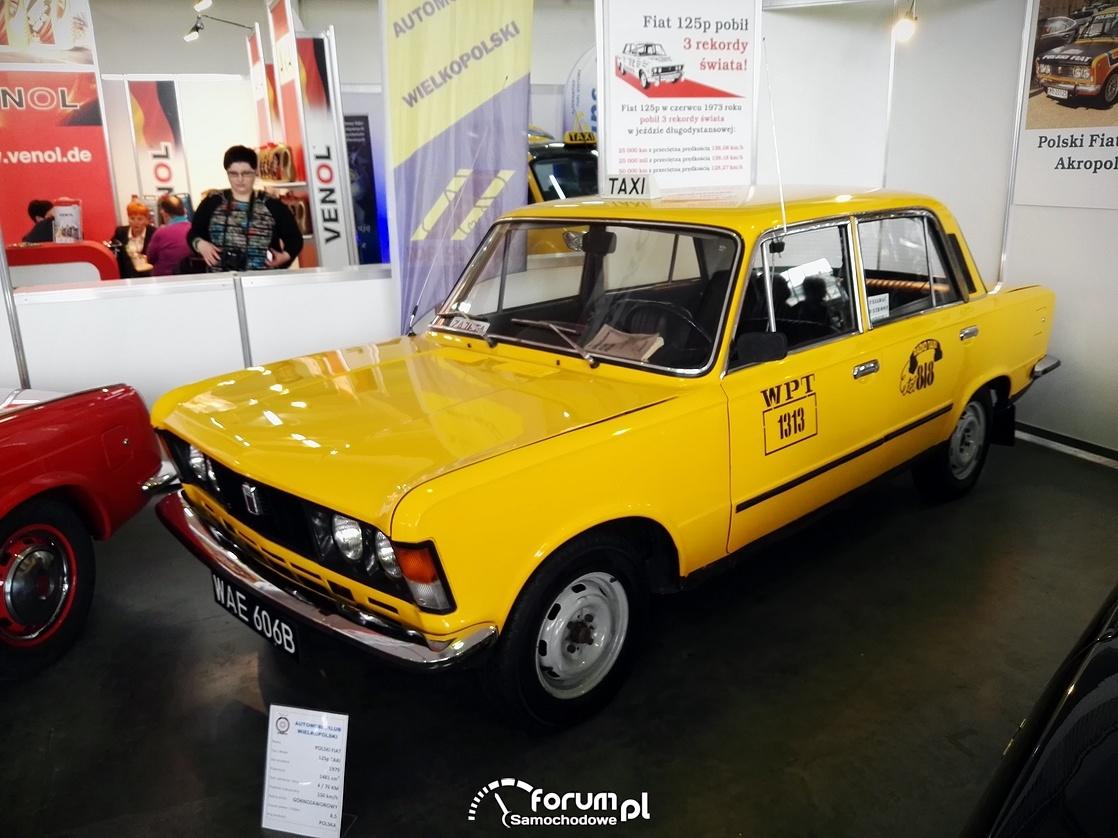 Taksówka WPT 1313, Fiat 125p ze Zmienników