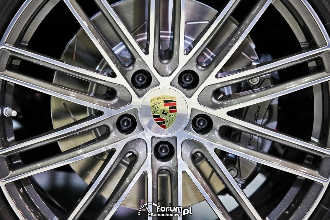 Alufegi i zaciski Porsche