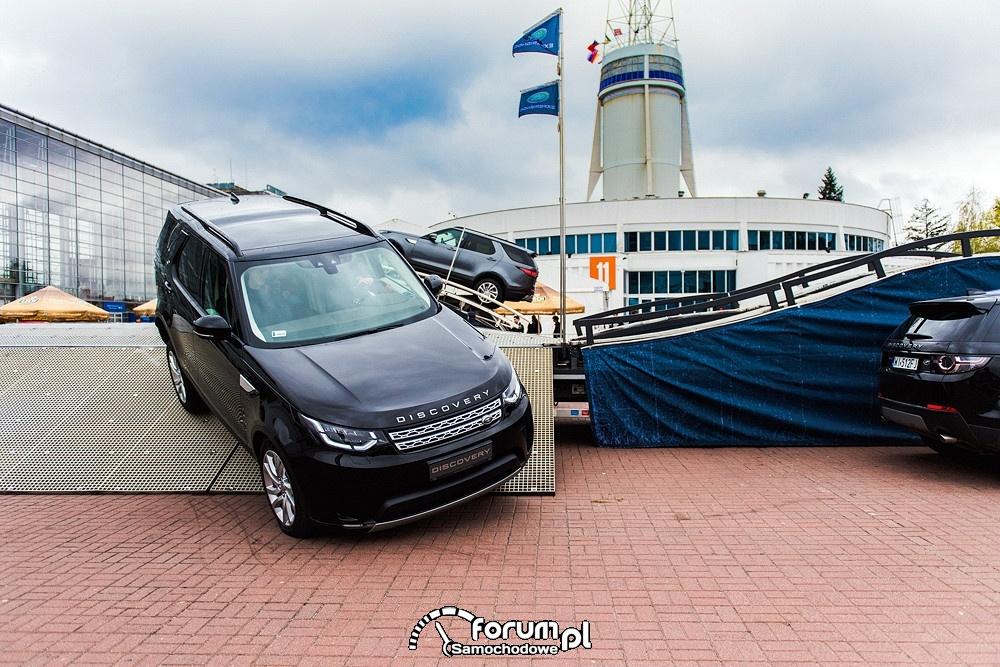 Kontrolowany zjazd z rampy, Land Rover Discovery