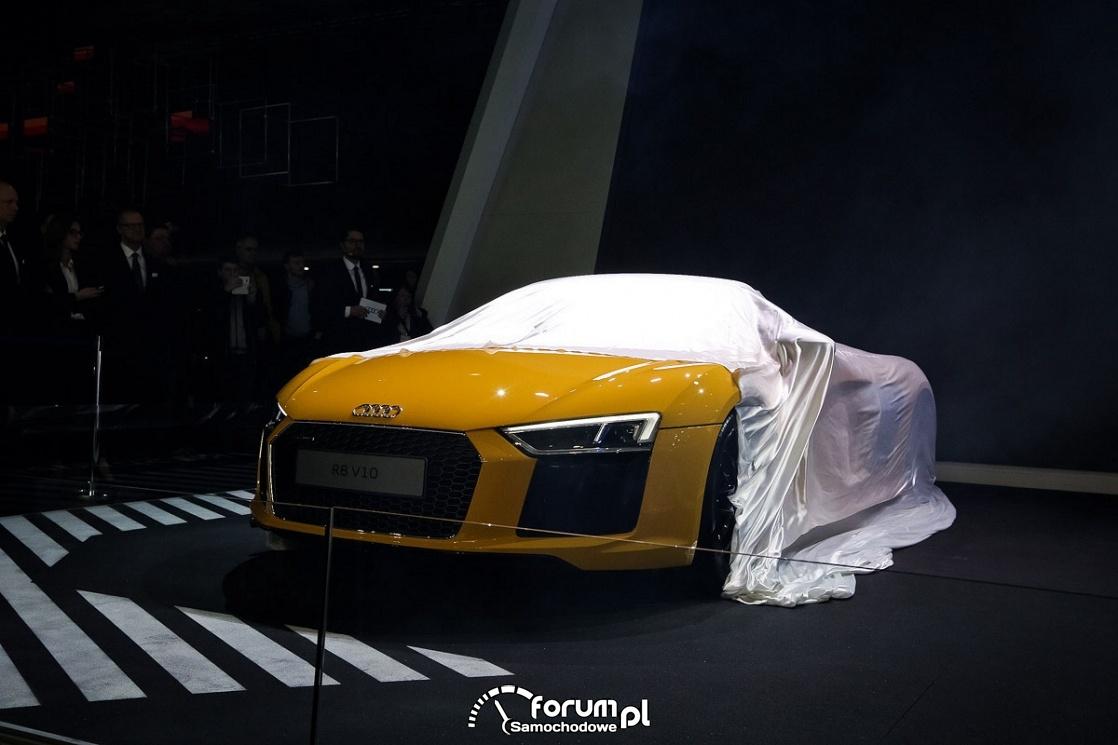 Premiera Audi R8 V10
