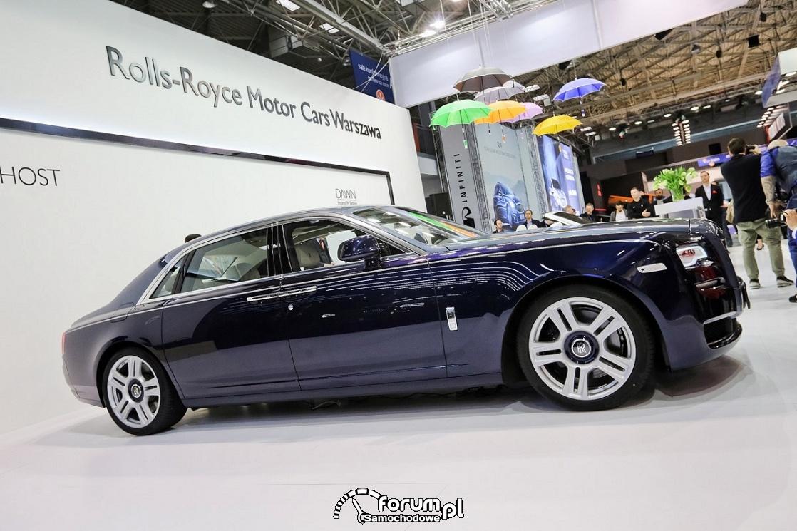 Rolls-Royce Ghost, bok