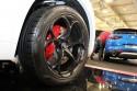 Alfa Romeo, czarne alufelgi 20 cali