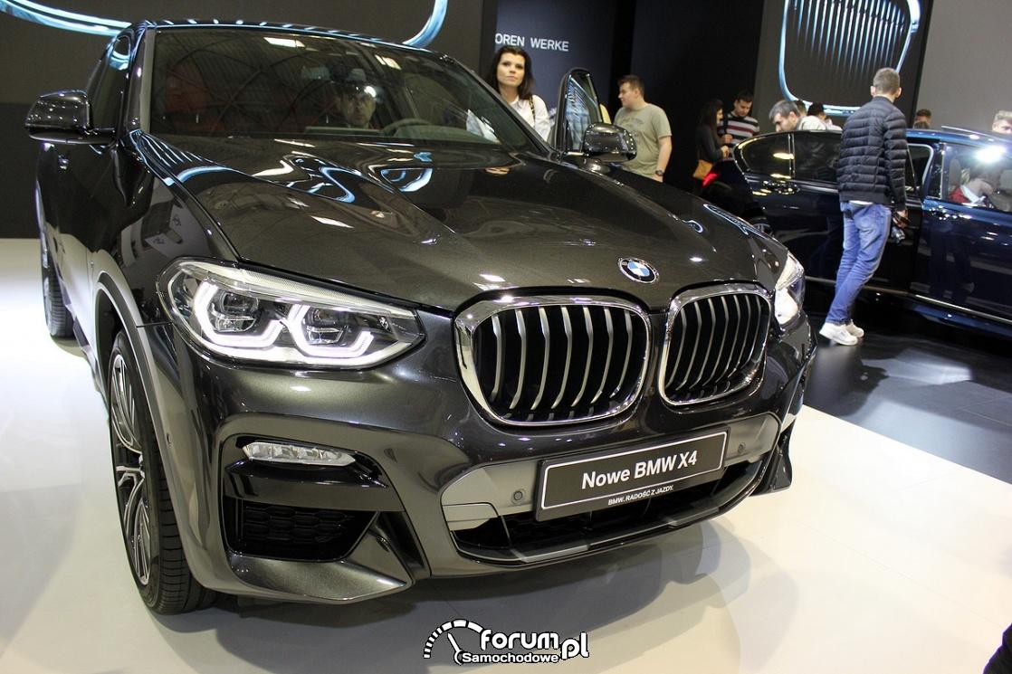 BMW X4, przód