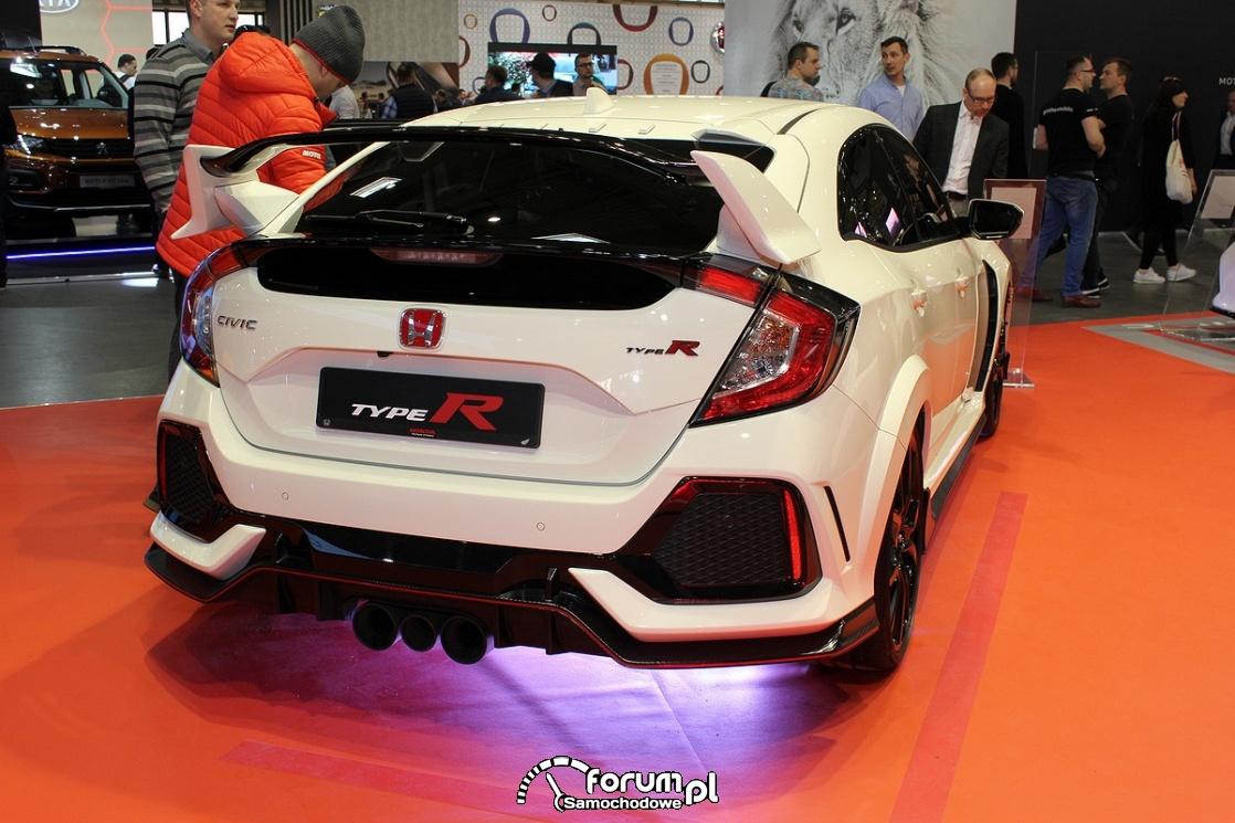 Honda Civic TypeR, tył