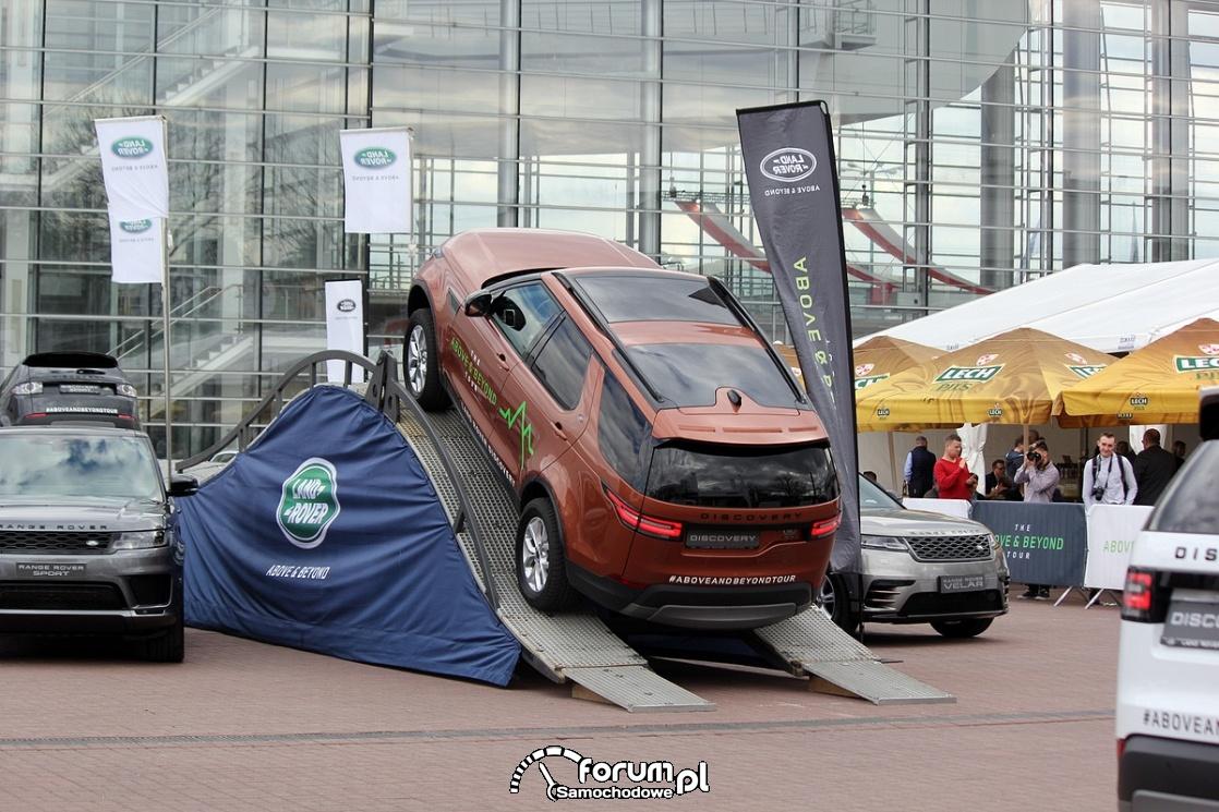 Land Rover Discovery, wjazd na rampę