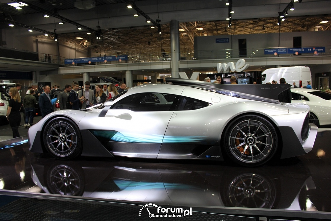 Mercedes-Benz AMG Project ONE, bok