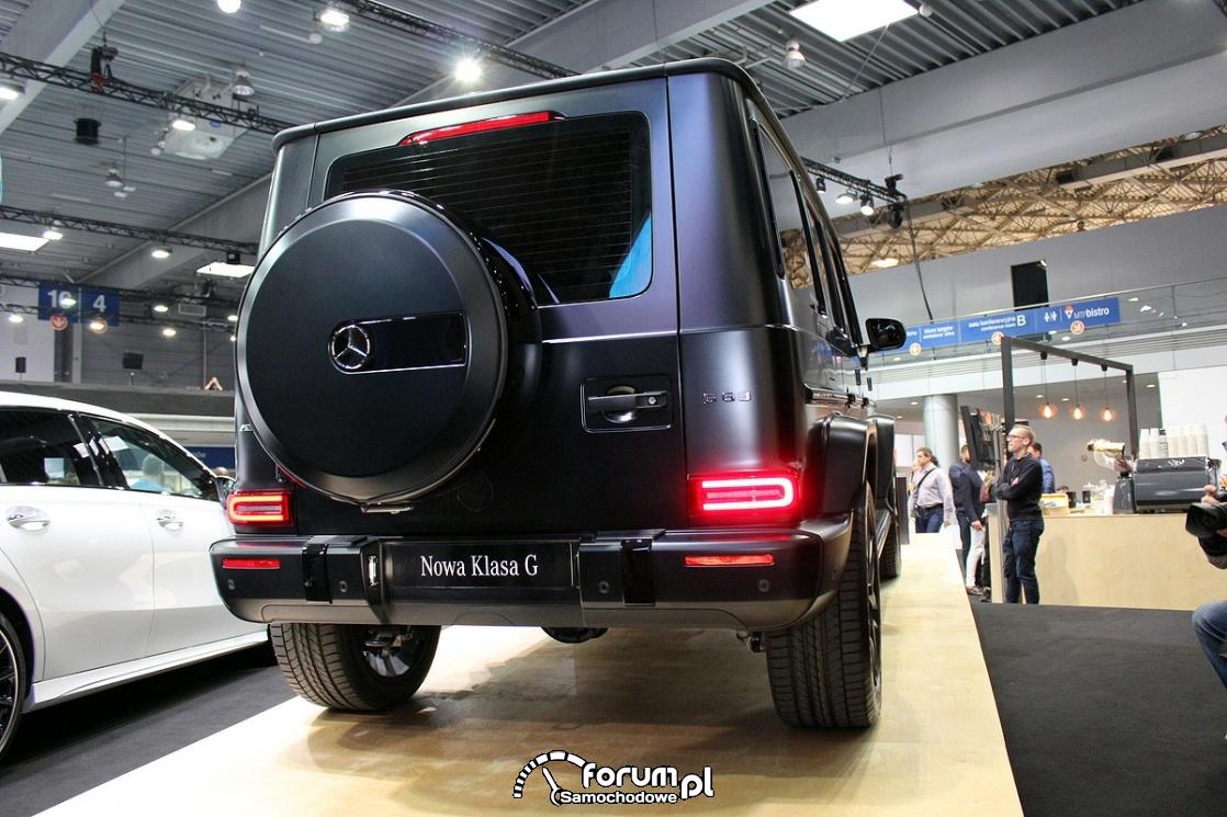 Mercedes-Benz Klasa G 63, tył