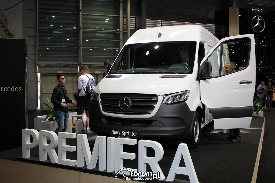 Mercedes Sprinter, premiera