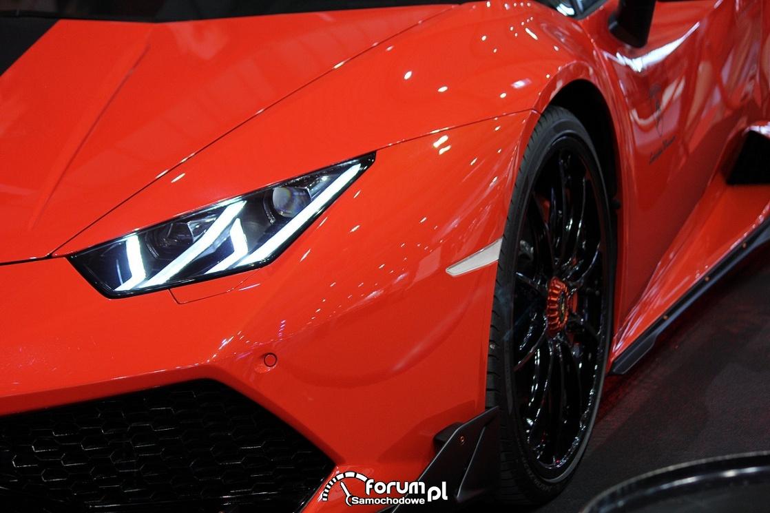 Przednie światła LED, Lamborghini Huracan