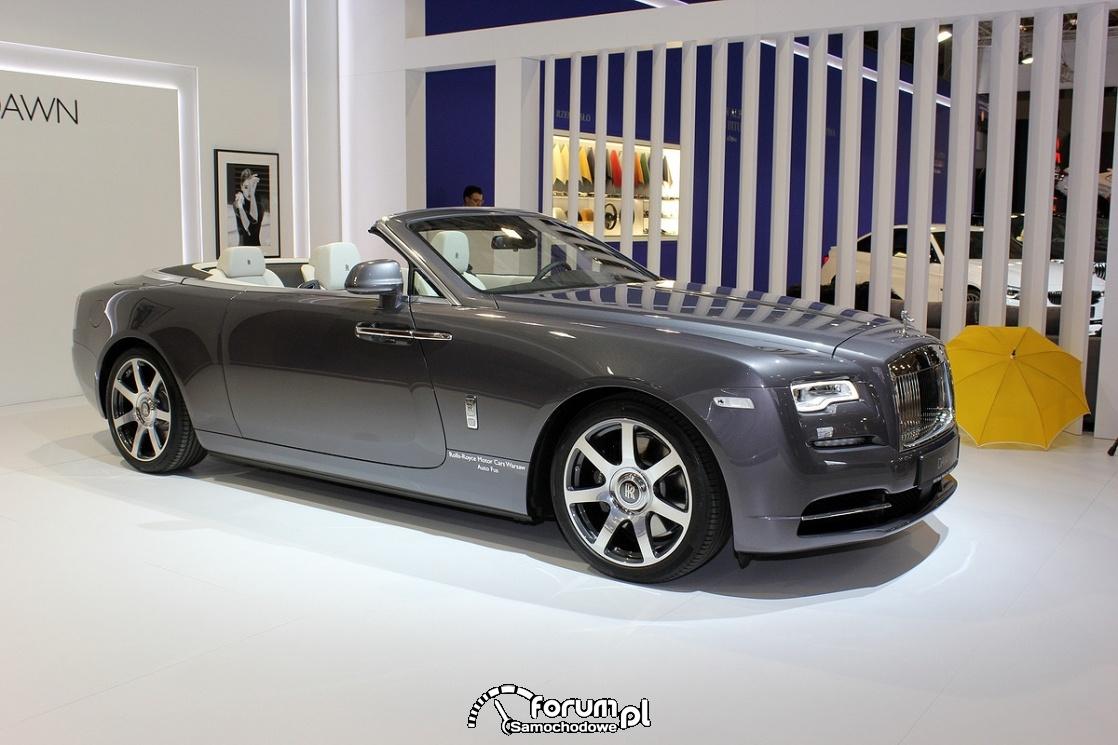 Rolls-Royce Dawn, bok