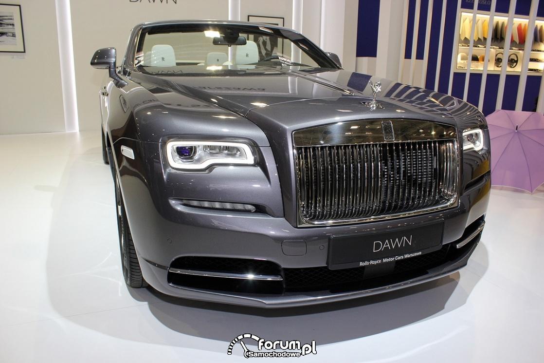 Rolls-Royce Dawn, przód