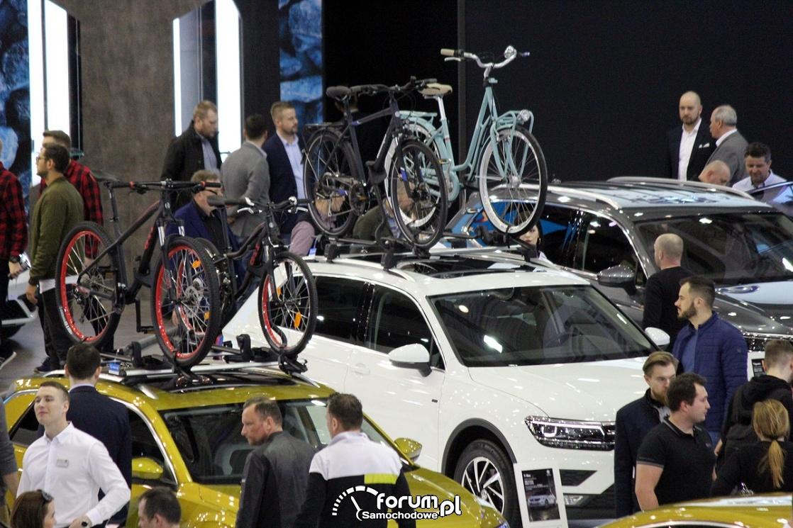 Rowery na bagażniku dachowycm