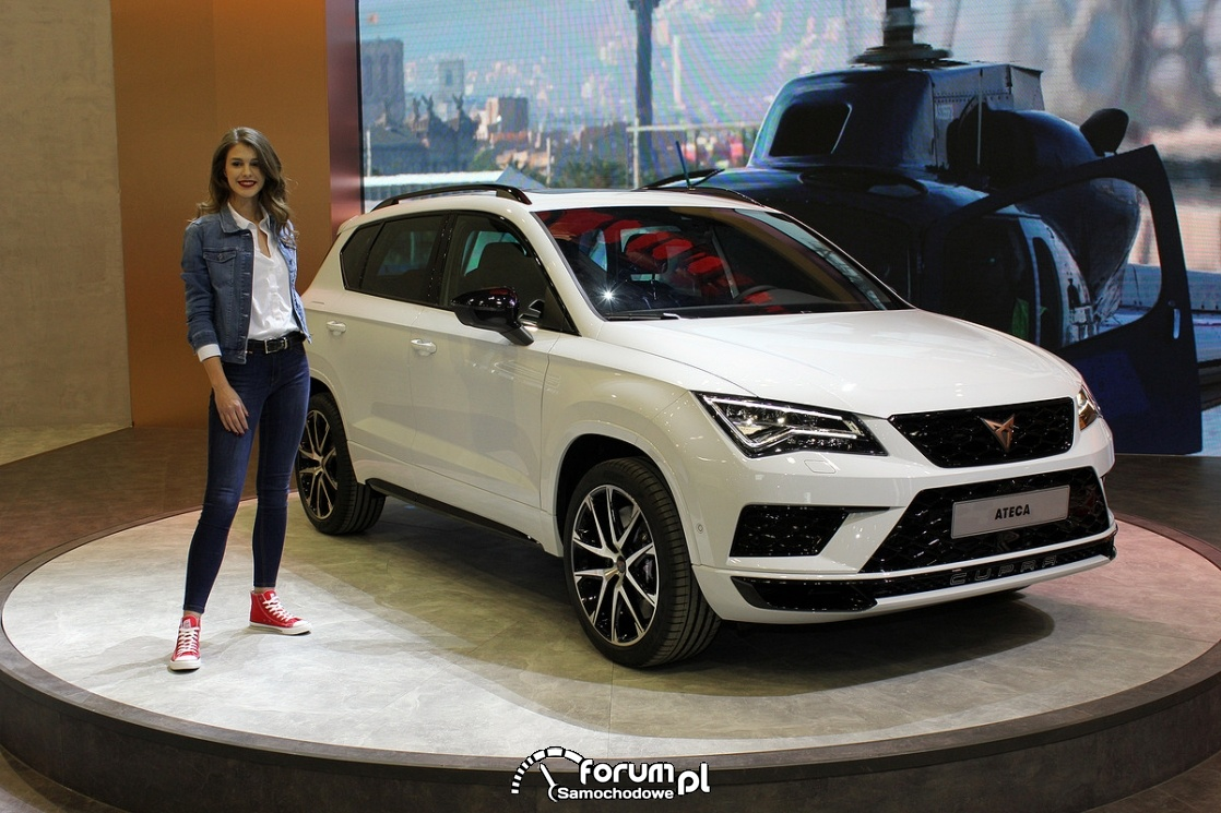 seat ateca cupra zdj cie motor show 2018 pozna. Black Bedroom Furniture Sets. Home Design Ideas