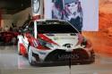 Toyota Yaris WRC, przód