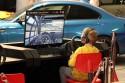 Wyścigi samochodowe dla najmłodszych na specjalnej konsoli