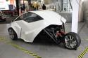 Adaptive Vehicle - prototyp innowacyjnego samochodu, tył