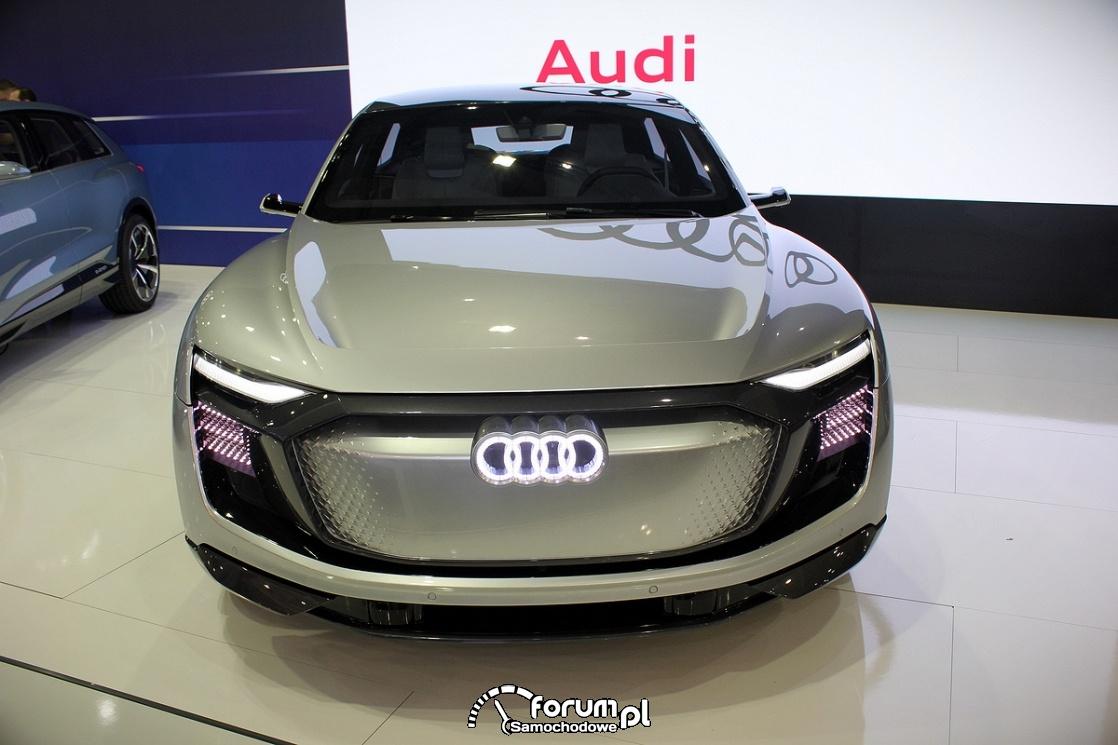 Audi AI Artificial Intelligence Technology, przód