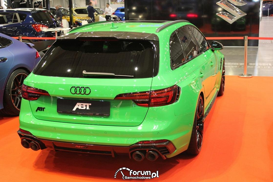 Audi RS4 ABT, tył