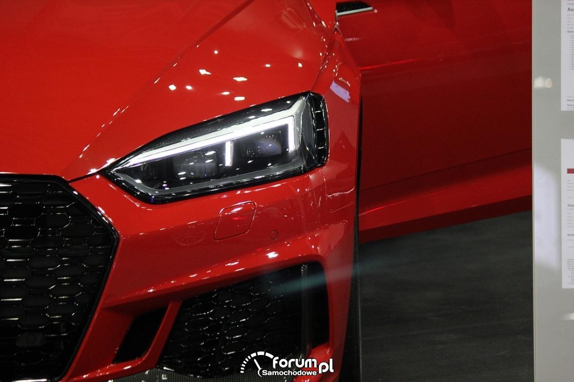 Audi RS7, światła przednie LED