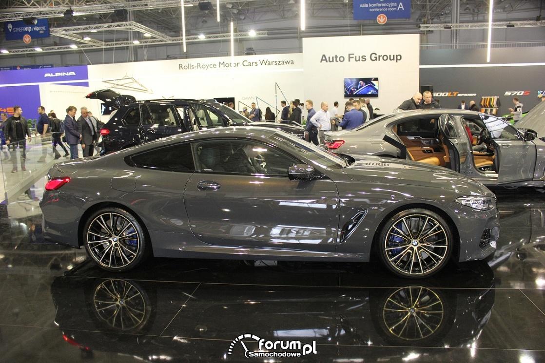 BMW M850i XDrive Coupe, bok