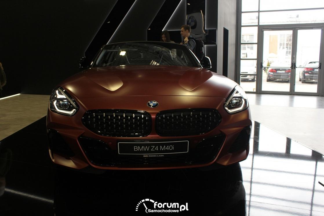 BMW Z4 M40i, przód
