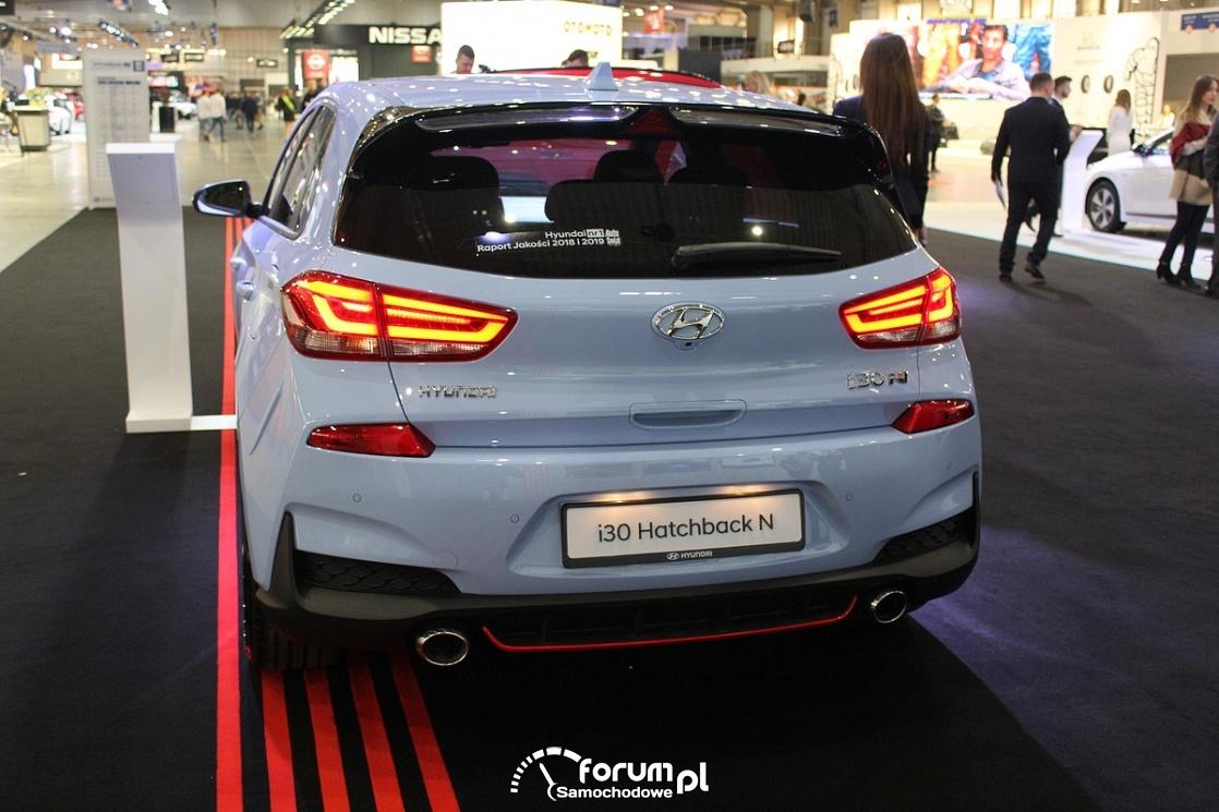 Hyundai i30 Hatchback N, tył