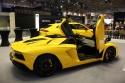 Lamborghini Aventador, bok
