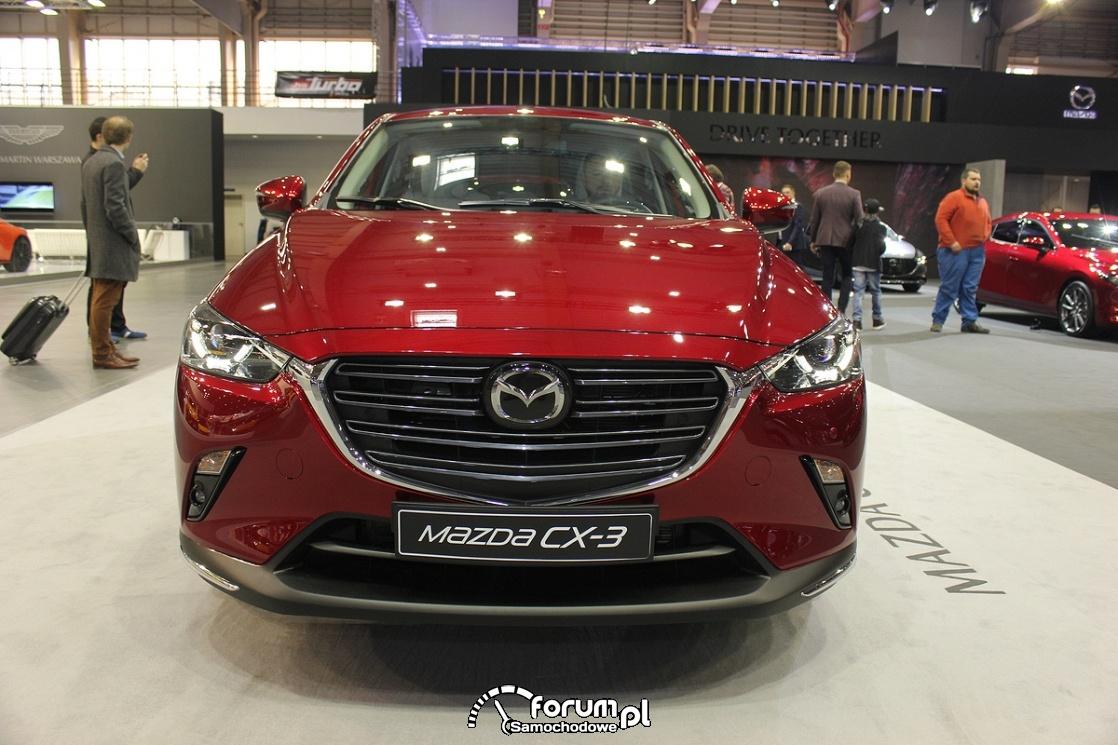 Mazda CX-3, przód