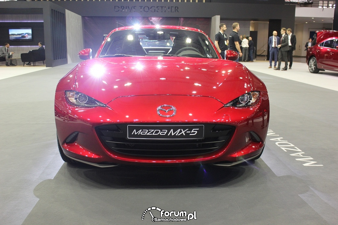Mazda MX-5, przód