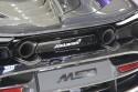 McLaren MSO, rury wydechowe
