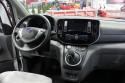 Nissan e-NV200, wnętrze