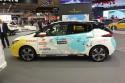 Nissan Leaf, mapa ekspedycji Polska - Japonia