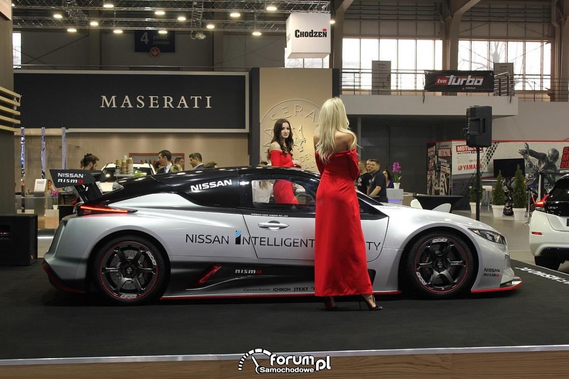 Nissan Leaf Nismo RS, bok