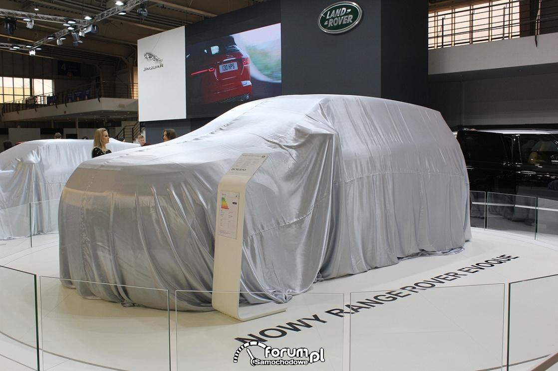 Range Rover Evoque przed prezentacją