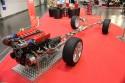 Silnik i układ wydechowy ze stali nierdzewnej