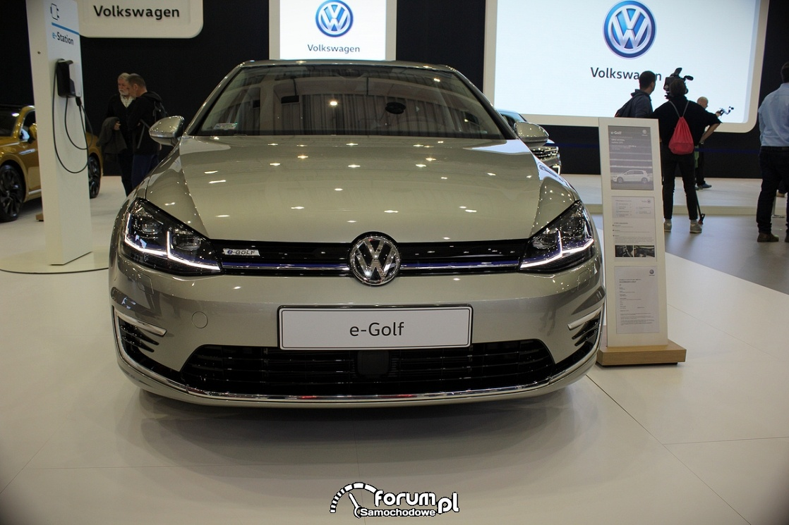 Volkswagen e-Golf, przód