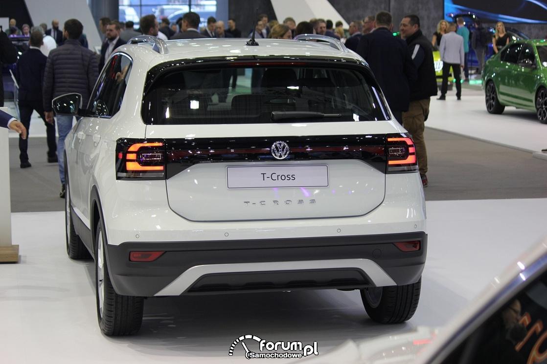 Volkswagen T-Cross, tył