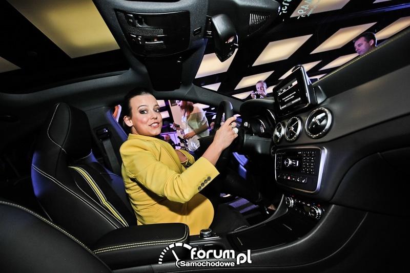 Anna Mucha, Mercedes-Benz nowa Klasa CLA