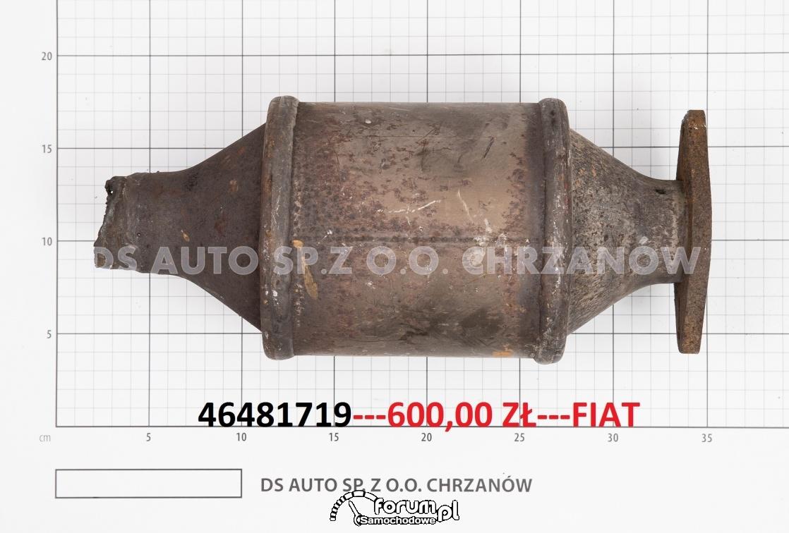 Cena w skupie za używany katalizator z fiata punto