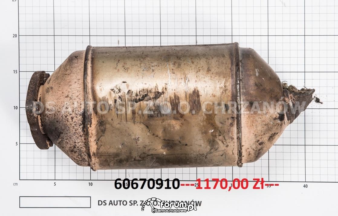 Cena za używany katalizator marki Peugeot