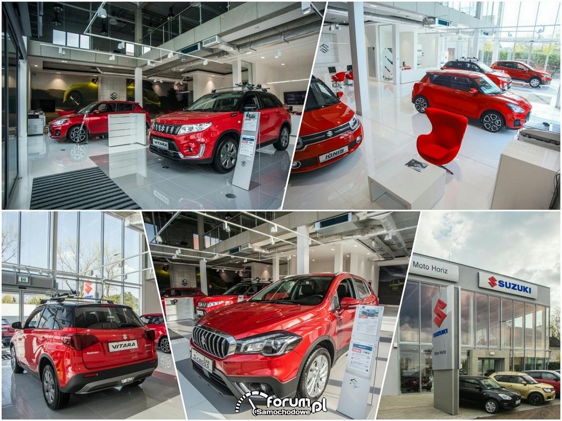 Salon samochodowy - Suzuki