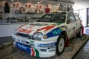 Rajdowa Corolla, przód, Muzeum Toyota Motorsport