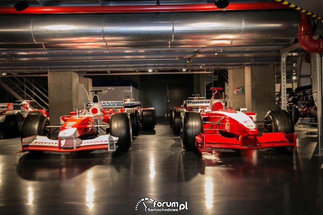 Toyota F1, Muzeum Toyota Motorsport
