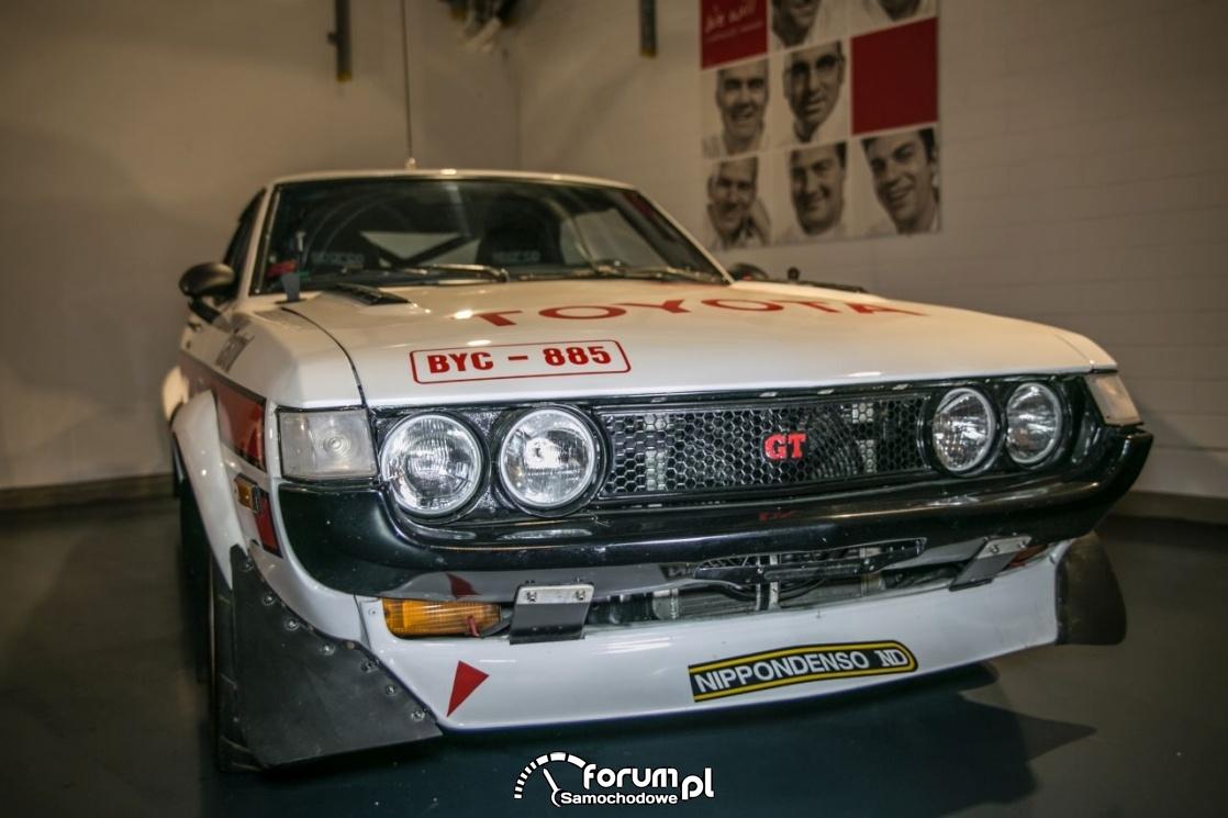 Toyota GT, przód, Muzeum Toyota Motorsport