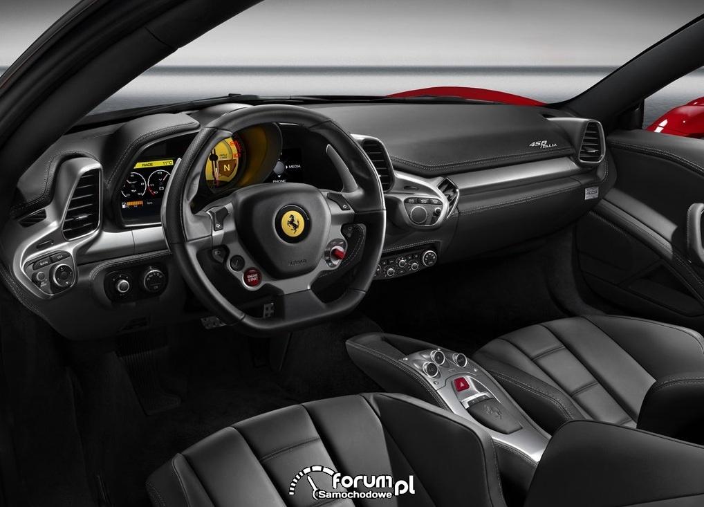 Ferrari 458 Italia zegary