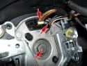 BMW X5 E53 wymiana przełącznika wycieraczek, 3