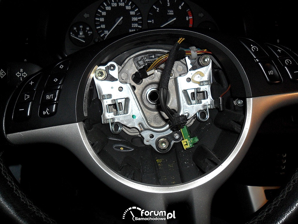 BMW X5 E53 wymiana przełącznika wycieraczek, 4